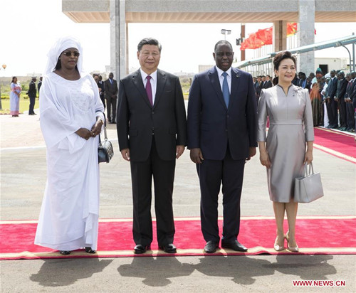 Chinese President Xi Arrives in Senegal for State Visit